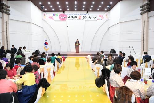 문경시여성단체협의회(회장 김월분) 여성단체 사업성과보고. 신년하례회