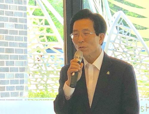 이철우 도지사 일본 카라호리 지역 찾아 일본의 지역재생